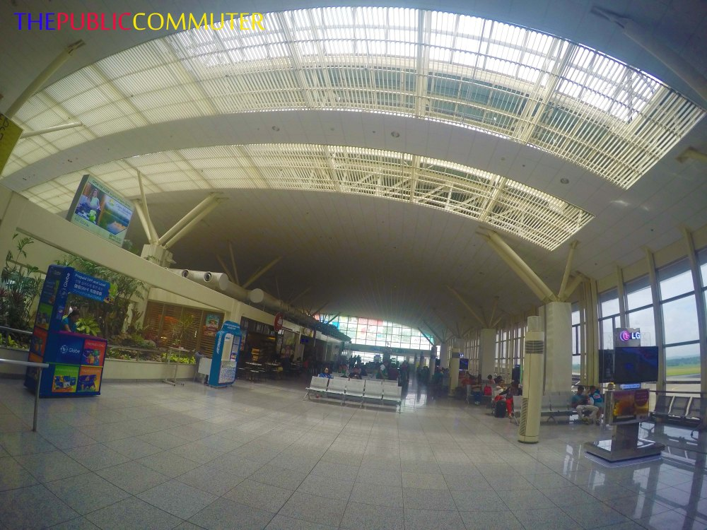 Flying out from Iloilo International Airport
