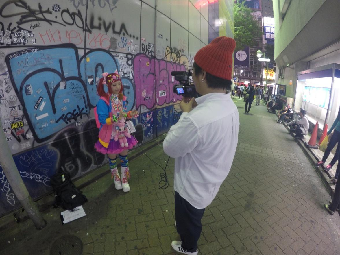 Harajuku street scene